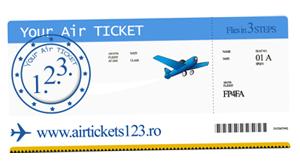 Logo design Airtickets 123